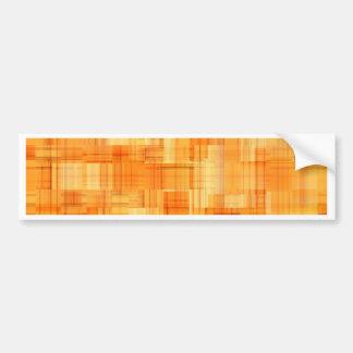 No. 4 del naranja del modelo por Tutti Pegatina Para Auto