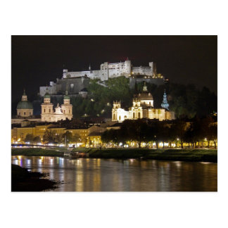 No.4 Hohensalzburg Castle, Salzburg Postcard