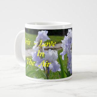 No # 509 Coffee Mug Jumbo, Iris - Love in The Air.