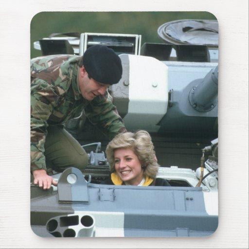 No.50 princesa Diana Alemania 1985 Alfombrilla De Ratón