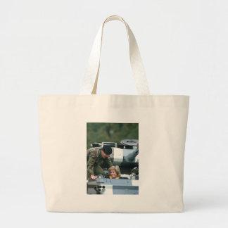 No.50 Princess Diana Germany 1985 Tote Bags