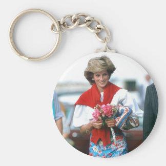 No.51 princesa Diana, Cirencester 1985 Llavero Redondo Tipo Pin