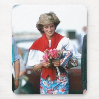 No.51 princesa Diana, Cirencester 1985 Mousepads