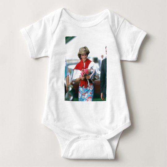 No.51 Princess Diana, Cirencester 1985 Baby Bodysuit