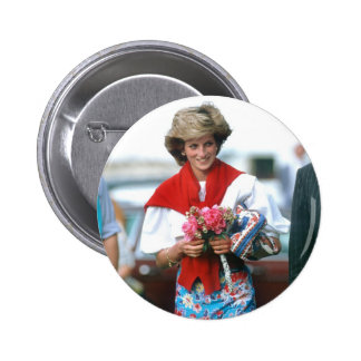 No.51 Princess Diana, Cirencester 1985 2 Inch Round Button