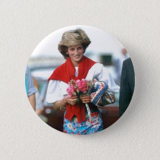 No.51 Princess Diana, Cirencester 1985 Pinback Button