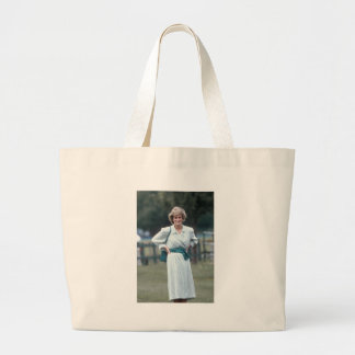 No.52 Princess Diana, Windsor 1985 Large Tote Bag