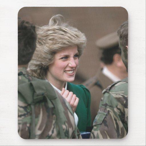 No.53 princesa Diana Alemania 1985 Tapete De Ratones