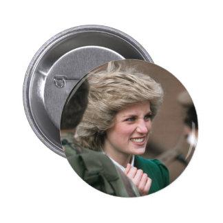 No.53 Princess Diana Germany 1985 Pinback Button
