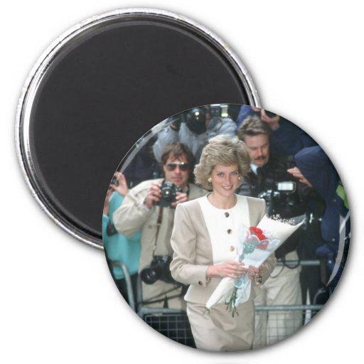 No.54 princesa Diana Londres 1989 Imán De Nevera