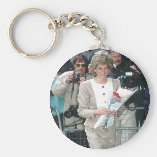 No.54 princesa Diana Londres 1989 Llaveros Personalizados