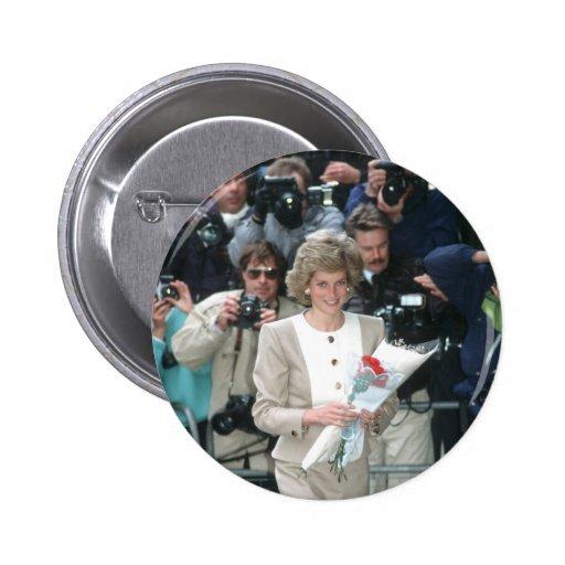 No.54 princesa Diana Londres 1989 Pin