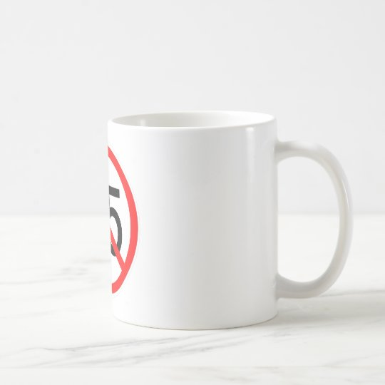 No 55 coffee mug