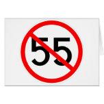 No 55 greeting cards