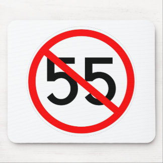 No 55 mouse pad
