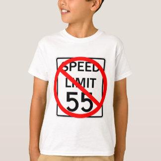 No 55 mph Speed Limit Sign T-Shirt