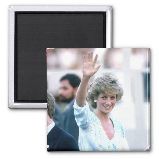 No.55 princesa Diana la Florida los E.E.U.U. 1985 Imán Cuadrado