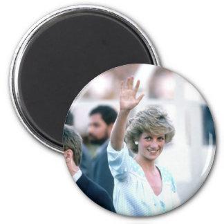 No.55 Princess Diana Florida USA 1985 2 Inch Round Magnet