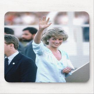 No.55 Princess Diana Florida USA 1985 Mousepad