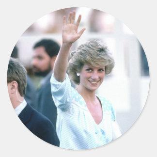 No.55 Princess Diana Florida USA 1985 Sticker