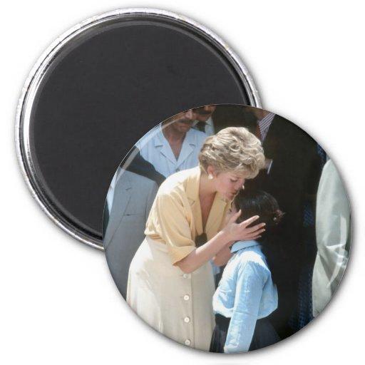 No.56 princesa Diana Egipto 1992 Iman Para Frigorífico