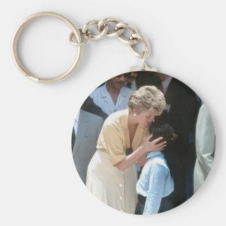 No.56 princesa Diana Egipto 1992 Llavero Redondo Tipo Pin