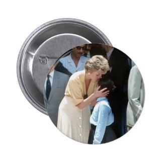 No.56 Princess Diana Egypt 1992 Pinback Button