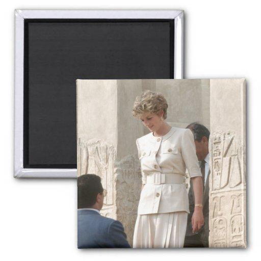 No.57 princesa Diana Egipto 1992 Imán Para Frigorifico