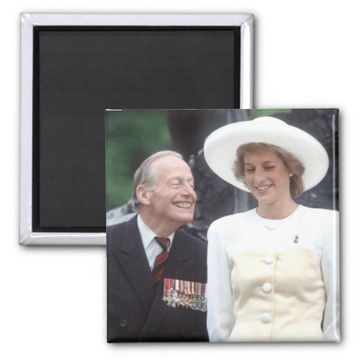 No.58 princesa Diana Londres 1989 Imán De Frigorifico