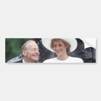 No.58 Princess Diana London 1989 Car Bumper Sticker