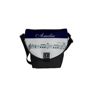 No. 5 (azul) de la sinfonía de Beethoven Bolsas De Mensajeria