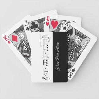 No. 5 de la sinfonía de Beethoven Cartas De Juego