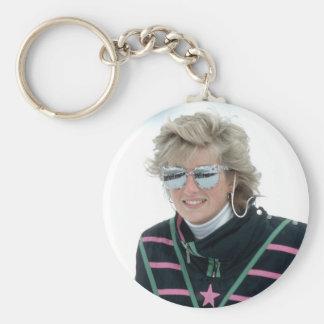 No.5 Princess Diana, Austria 1988 Keychain