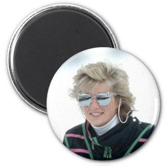 No.5 Princess Diana, Austria 1988 Fridge Magnets