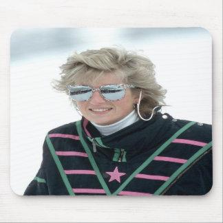 No.5 Princess Diana, Austria 1988 Mouse Mats
