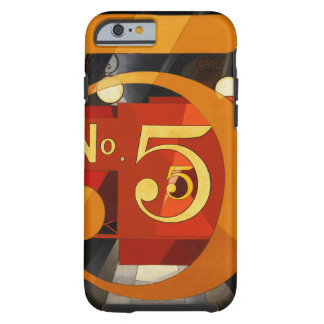 No 5 - The Figure 5 in Gold by Demuth Case