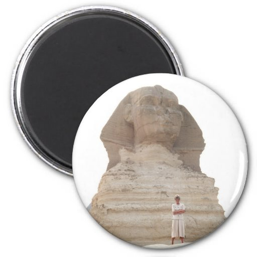 No.61 Princess Diana Egypt 1992 2 Inch Round Magnet