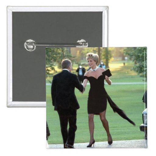 No.62 princesa Diana Vanity Fair Pin Cuadrada 5 Cm