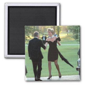 No.62 Princess Diana Vanity Fair 2 Inch Square Magnet