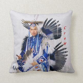 No 632 - Throw Pillow Crow Dancer