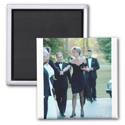 No.63 princesa Diana Vanity Fair Imán Para Frigorífico