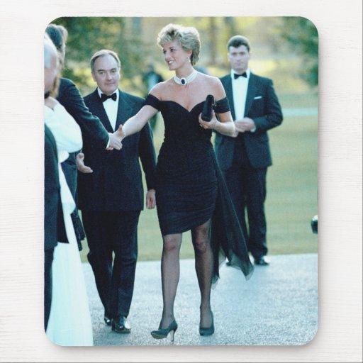 No.63 princesa Diana Vanity Fair Alfombrillas De Raton