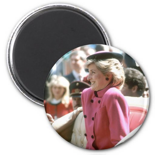 No.65 princesa Diana Viena 1986 Iman De Nevera