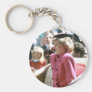 No.65 Princess Diana Vienna 1986 Basic Round Button Keychain