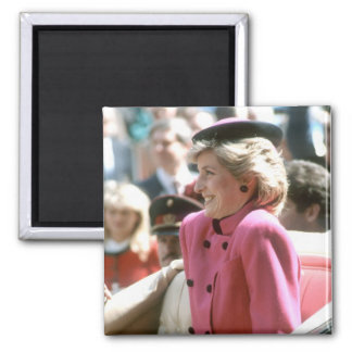 No.65 Princess Diana Vienna 1986 Magnet
