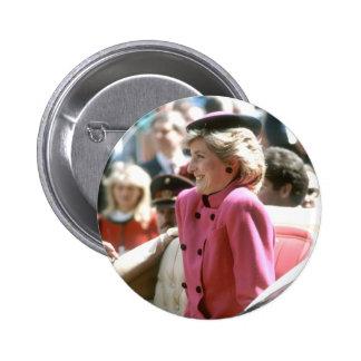 No.65 Princess Diana Vienna 1986 Pinback Button