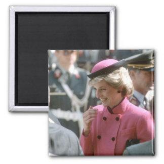 No.66 Princess Diana Vienna 1986 2 Inch Square Magnet
