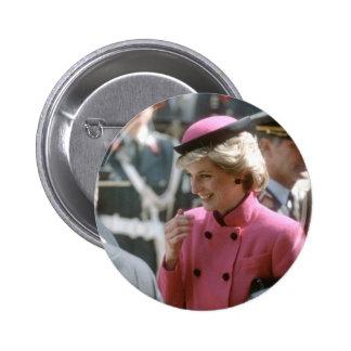 No.66 Princess Diana Vienna 1986 Button