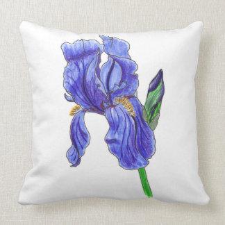 No. 67 Iris Throw Pillow