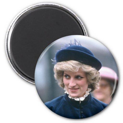 No.67 princesa Diana Nottingham 1985 Imán De Frigorífico